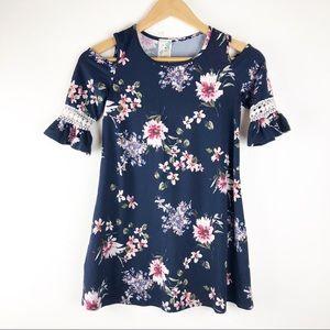 🌿 Lily Bleu Cold Shoulder Dress